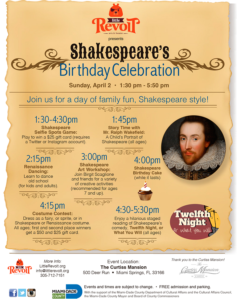 Shakespeares-Birthday-Celebration-Poster