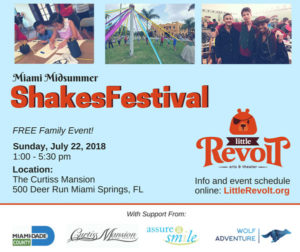 Little Revolt presents: ShakesFestival