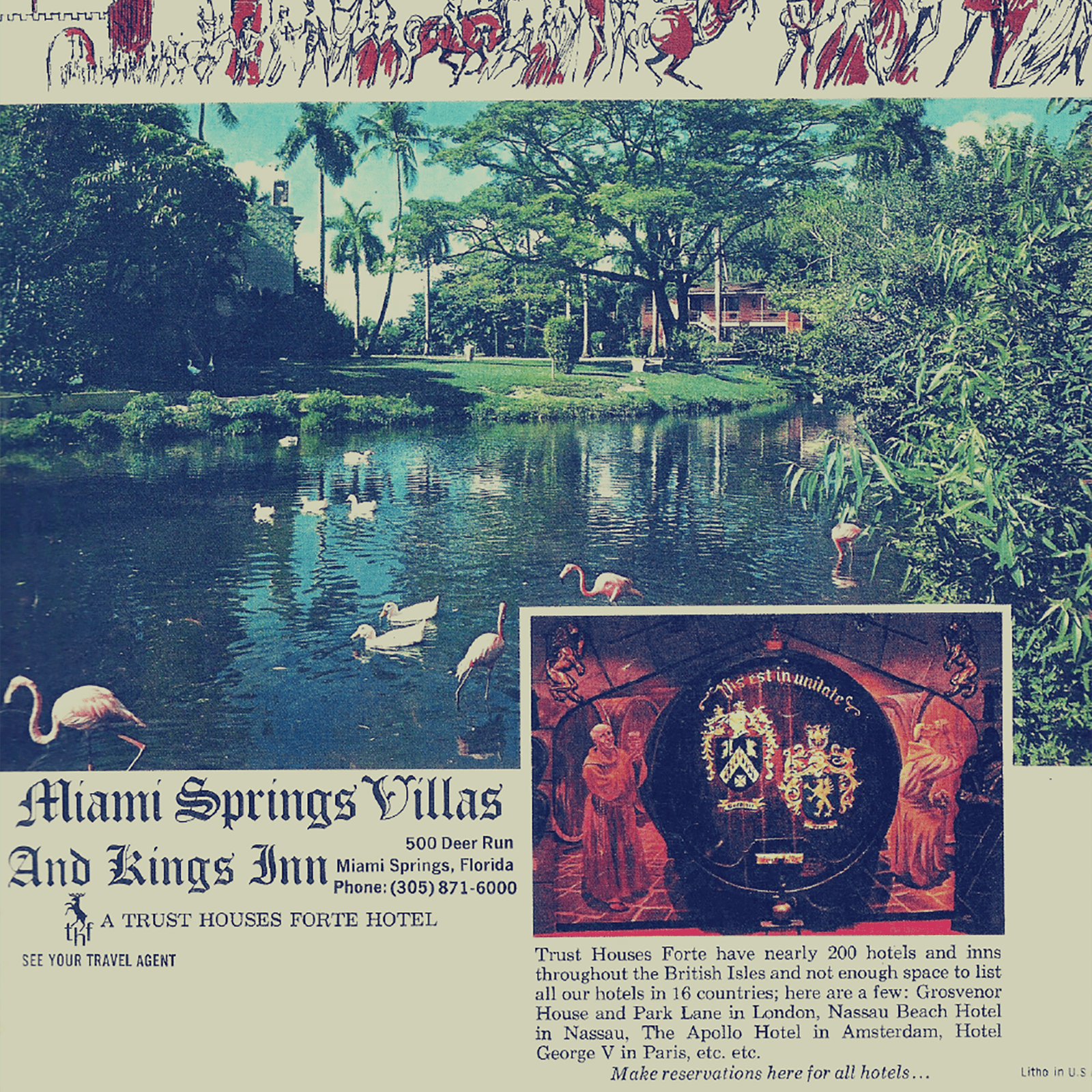 After his mother's death, Glenn, Jr. sold the home to Art Bruns and associates, and they developed the property as the Miami Springs Villas.