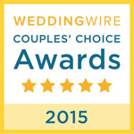 Wedding Wire Couple's Choices Award 2015