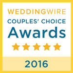 Wedding Wire Couple's Choices Award 2016