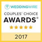 Wedding Wire Couple's Choices Award 2017
