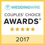 Wedding Wire Couple's Choices Award 2017