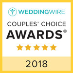 Wedding Wire Couple's Choices Award 2018