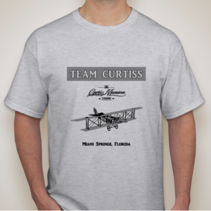 Team Curtiss adult t-shirt