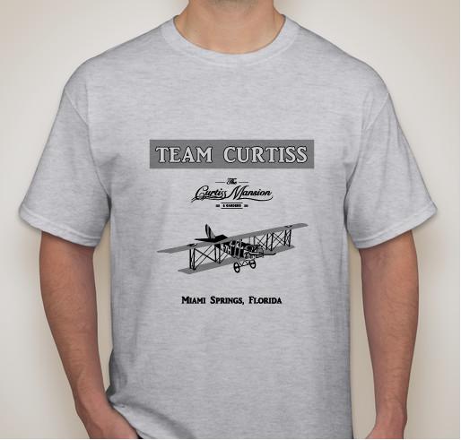 Team Curtiss adult t-shirt