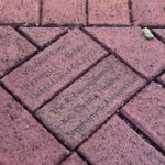 Commemorative Bricks at the Curtiss Mansion