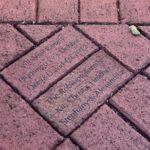 Commemorative Bricks at the Curtiss Mansion