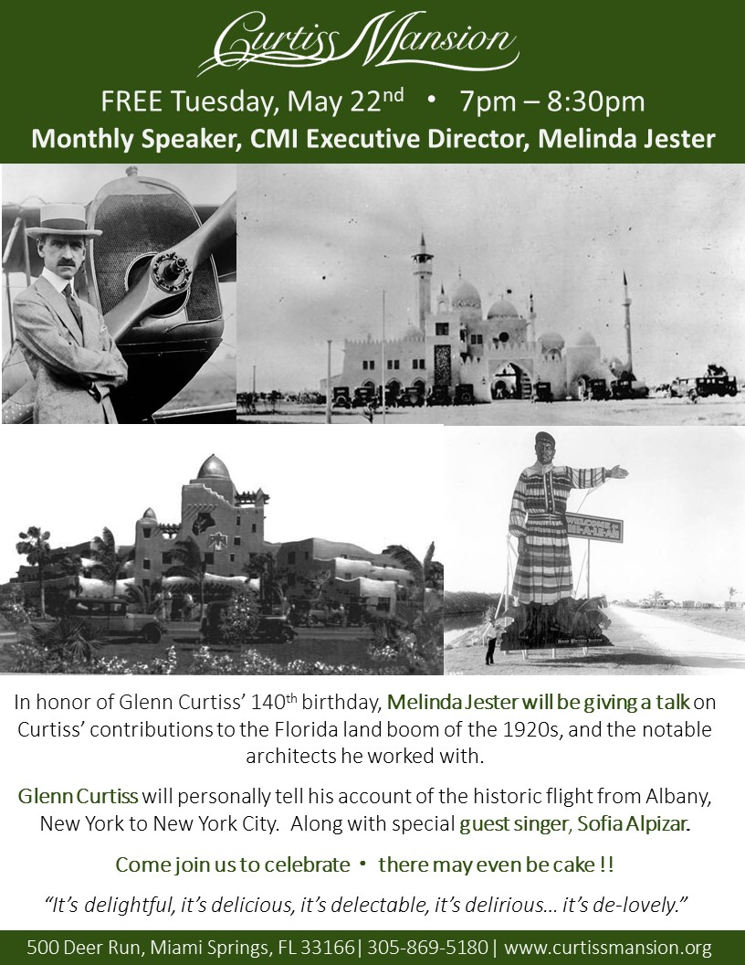 Melinda Jester - Glenn Curtiss 140th Birthday
