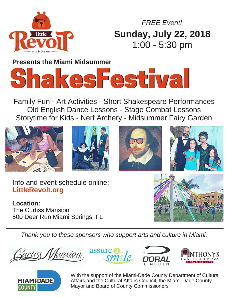 Little Revolt Shakesfest