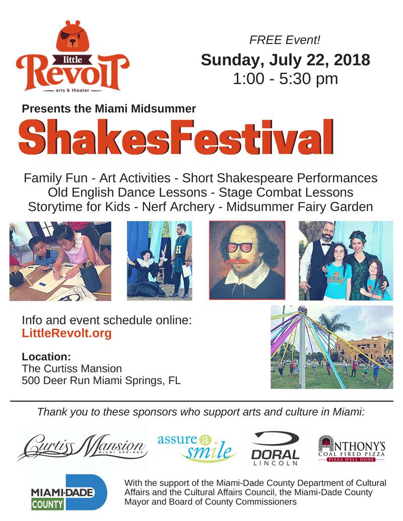 Little Revolt Shakesfest