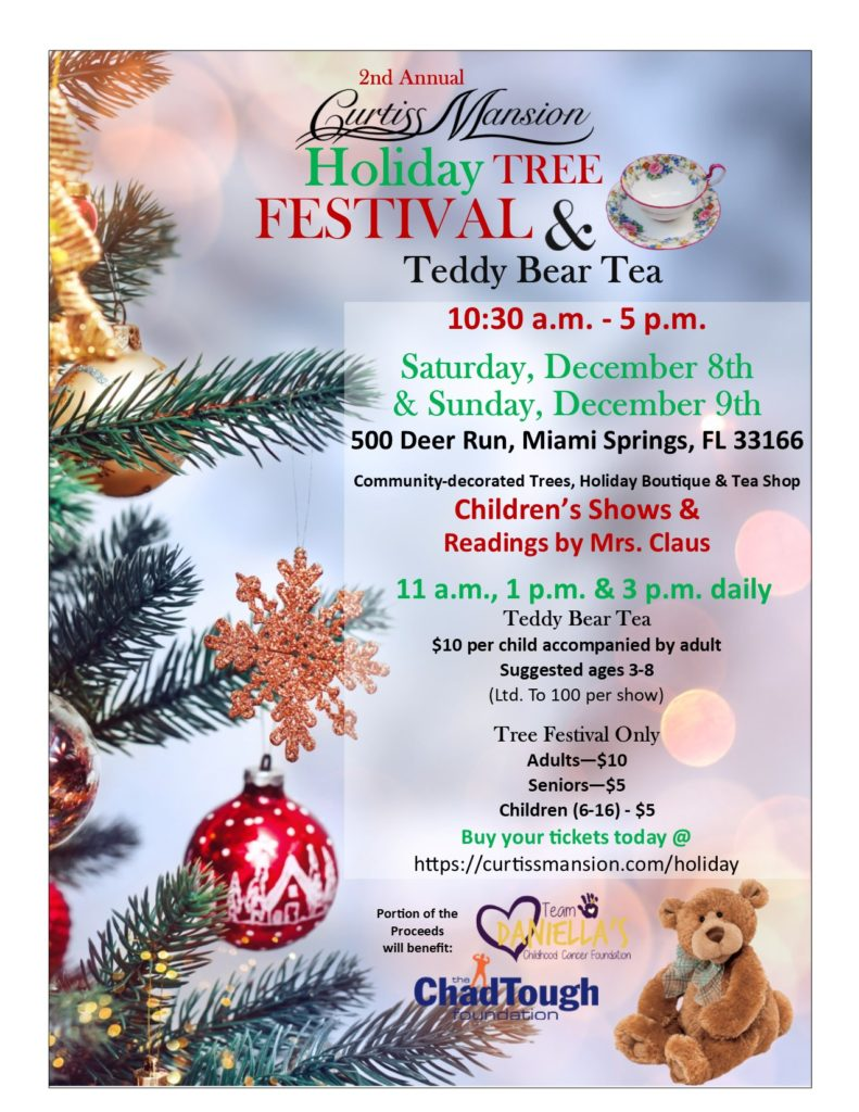 Teddy Bear Tea at the Curtiss Mansion