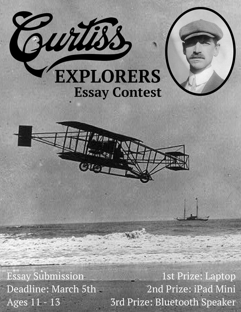 Curtiss Explorers Essay contest