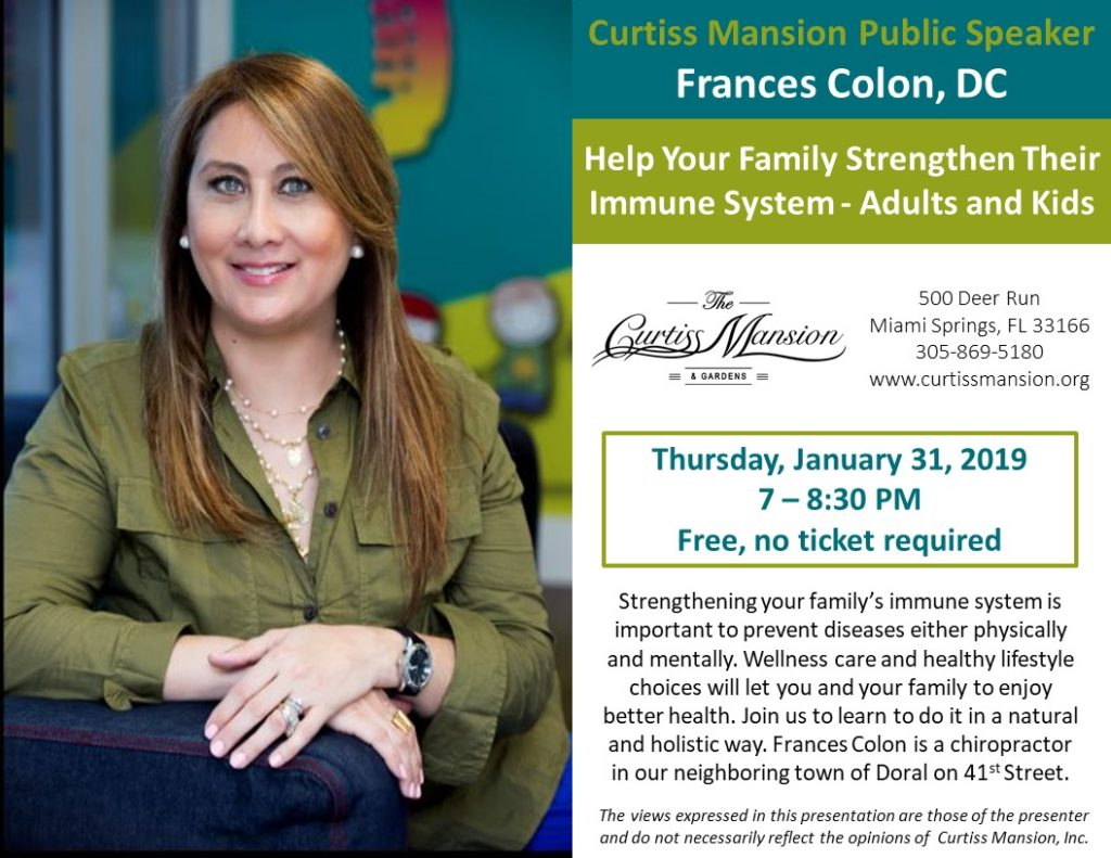 FFrances Colon, Help Your Family Strengthen Their Immune System -Adults and Kids