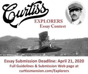 Curtiss Explorers Essay Contest – 2020