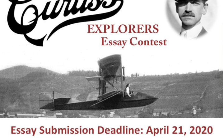 Curtiss Explorers 2020 essay contest