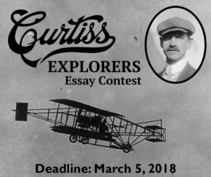Curtiss Explorers Essay Contest – 2019