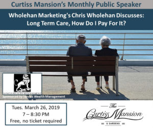 Chris Wholehan, Long Term Care, How Do I Pay For It?