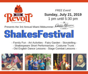 Shakes Festival at the Mansion