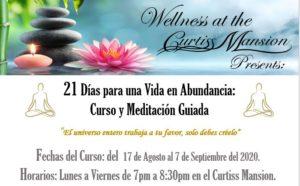 21 Días para una Vida en Abundancia: Curso y Meditación Guiada