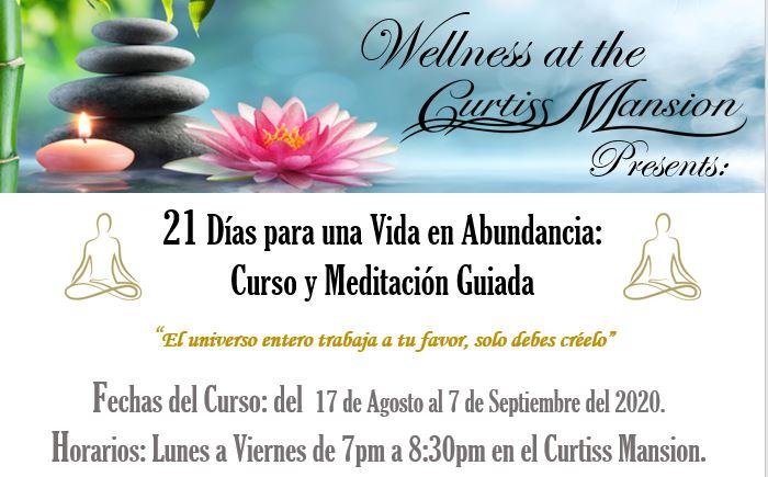 wellness at the mansion - 21 dias para una vida en abundancia