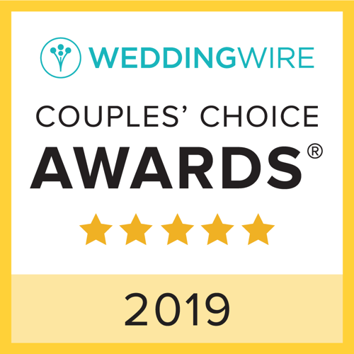 Wedding Wire Couple's Choices Award 2018