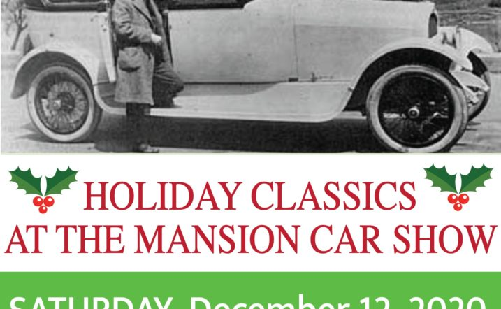 Holiday Car Show 2020 at the Curtiss Mansion