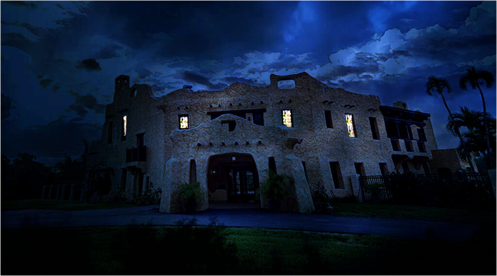 Cortez Manor - a Halloween experience at the Curtiss Mansion