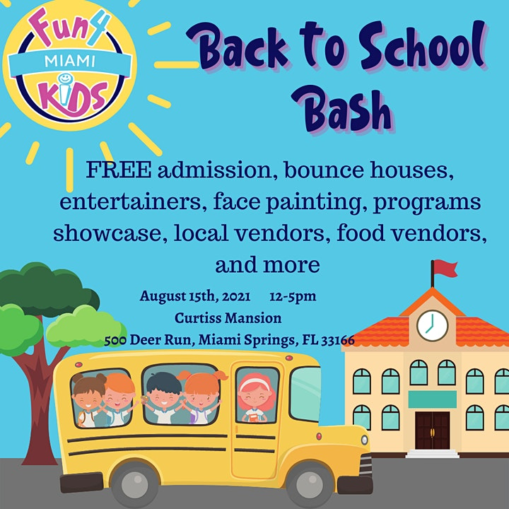 Back To School Bash at the Curtiss Mansion